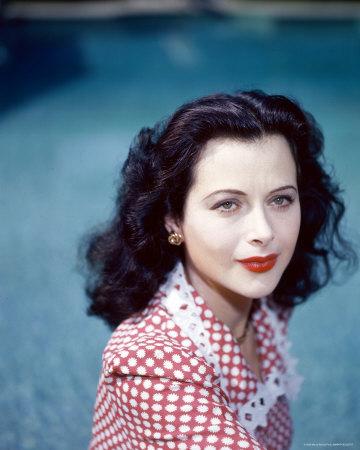 Hedy Lamarr colour